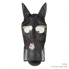 Fly mask with motif