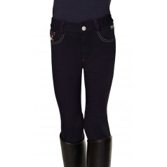"PFIFF ""Hanni'' Children's Extended Knee Patch Riding Breeches"