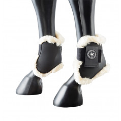 PFIFF fetlock boots with synthetic fur
