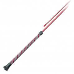 PFIFF dressage whip with rubberised 2-tone handle