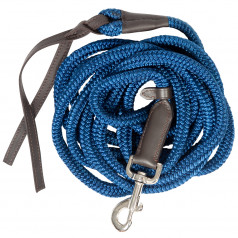 PFIFF training lead with leather popper