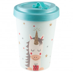 'Dreaming Unicorn' bamboo coffee to go cup
